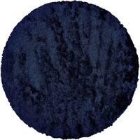 Grand Bazaar Freya Dark Blue Wool Rug - 8' x 8'