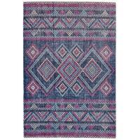 Grand Bazaar Tosca Teal/ Multi Wool Rug - 5' x 8'