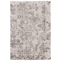 Grand Bazaar Edingburgh White/ Birch Area Rug - 10' x 13'2""