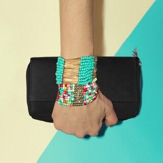 AFONiE Classic Zip Around Leather women's Wallet