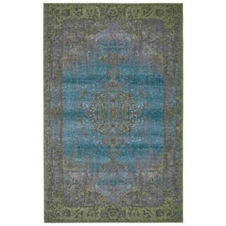 Grand Bazaar Vassar Moss Wool Rug - 8' x 11'
