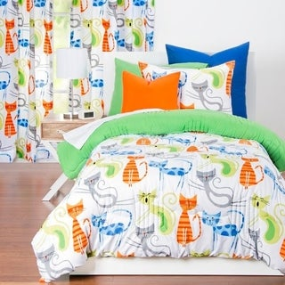 Learning Linens Smarty Cat Comforter Set