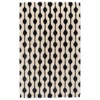 Grand Bazaar Noemie White/ Black Area Rug (8' x 10')