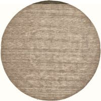 Grand Bazaar Celano Brown Wool Rug (10' X 10' Round) - 10' x 10'