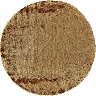 Grand Bazaar Freya Saffron Wool Rug (8' X 8' Round) - 8' x 8'