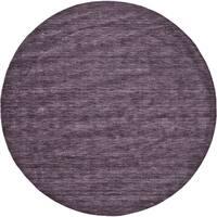 Grand Bazaar Celano Purple Wool Rug - 10' x 10'