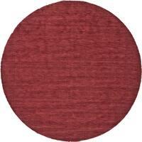 Grand Bazaar Celano Red Wool Rug - 10' x 10' Round