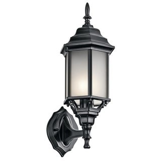 Kichler Lighting Chesapeake Collection 1-light Black Outdoor Wall Lantern