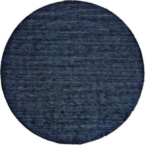 Grand Bazaar Celano Dark Blue Wool Rug - 10' x 10'