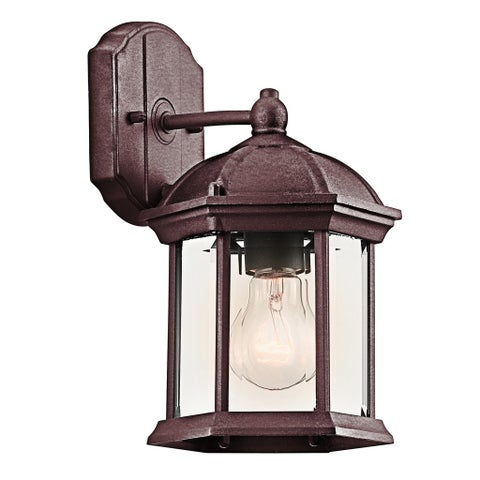 Copper Grove Langais 1-light Tannery Bronze LED Outdoor Wall Lantern