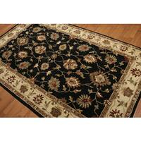 Traditional Hand Tufted Persian Oriental Pure Wool Rug - 5'x8'