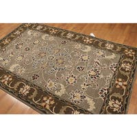 Pure Wool Tradtional Hand Tufted Persian Oriental Wool Rug - Multi-color