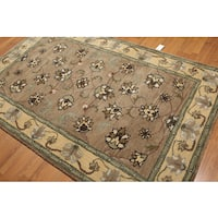 Hand Tufted Traditional Patterned Persian Oriental Wool Rug - 5'x8'