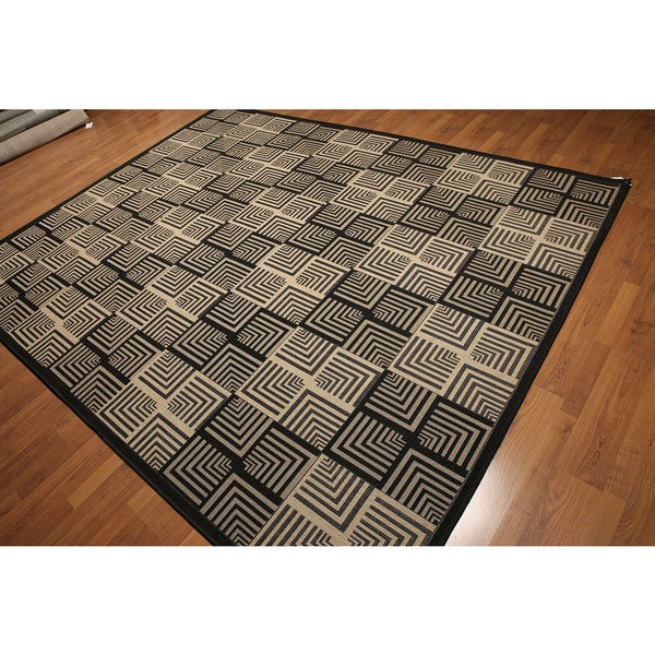 Turkish Dhurry High-Quality Modern Machine-Made Indoor/Outdoor Area Rug (8' x 10')