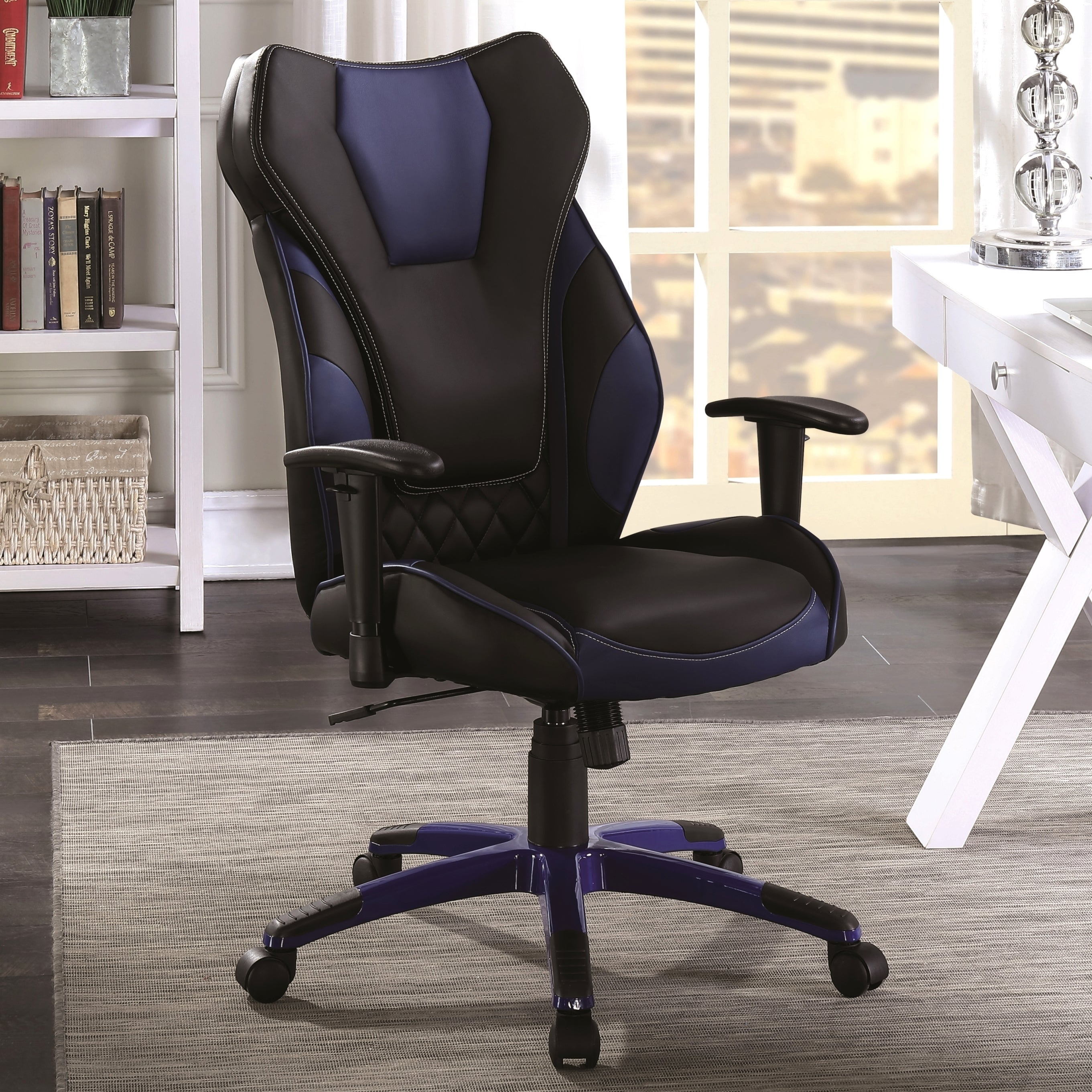 Amazing Racer Design Black Blue Ergonomic Gaming Home Office Chair Uwap Interior Chair Design Uwaporg