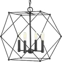 Spatial Four-Light Pendant