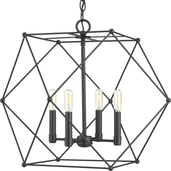 Spatial Four-Light Pendant