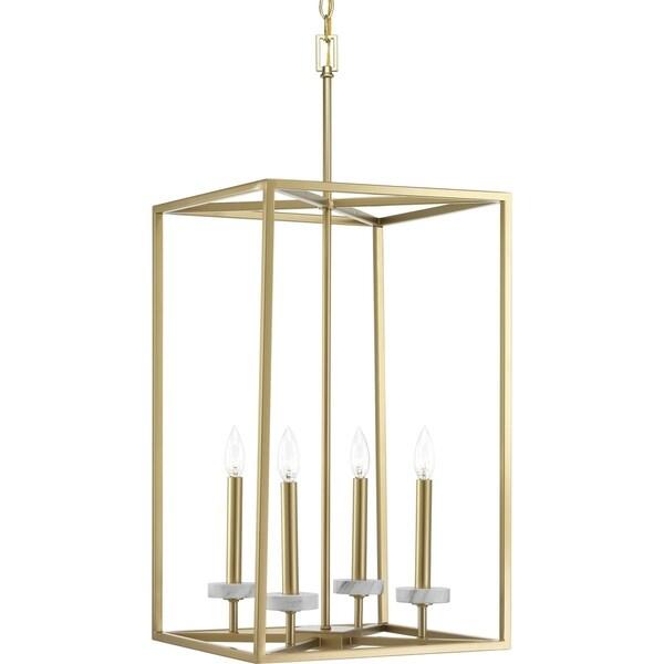 Progress Lighting Palacio Goldtone Steel 4-light Pendant