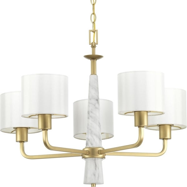 Palacio Five-Light Chandelier - Gold