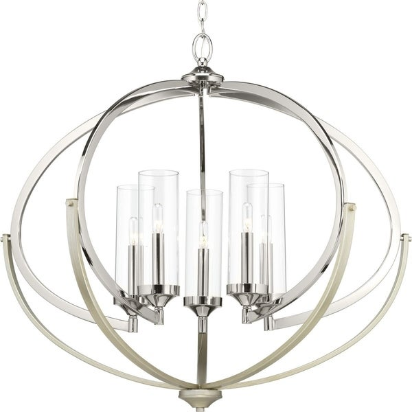 Progress Lighting Evoke Five-Light Chandelier