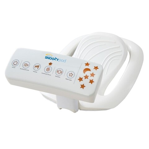 HALO Snoozypod Vibrating Bedtime Soother in White