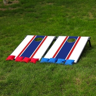 Sports Festival ® Cornhole Game Set w/ Tic Tac Toe - French Style