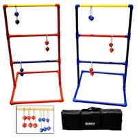 Sports Festival ® Premium Ladder Ball Toss Game Set with 6 Bolas and Carrying Case