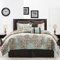 Pippa vine motif comforter set