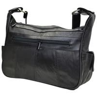 AFONiE Leather Women Hobo Handbag