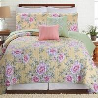 Amrapur Overseas Pasadena 5-Piece Printed Reversible Quilt Set
