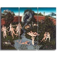 Design Art 'Lucas Cranach - The Golden Age' Canvas Art Print
