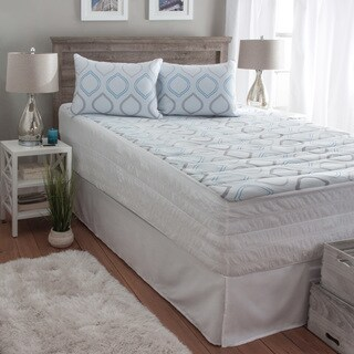 Hanes Performance Knit ComfortSoft Hypoallergenic Mattress Pad (2 options available)