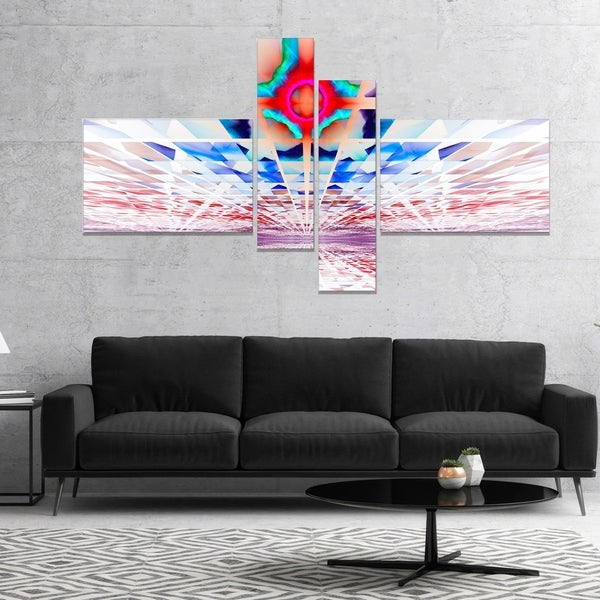 Designart 'Cosmic Horizons Apocalypse' Abstract Wall Art Canvas