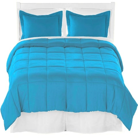 Comforter Set + Sheet Set + Bed Skirt - Premium Ultra-Soft Brushed Microfiber