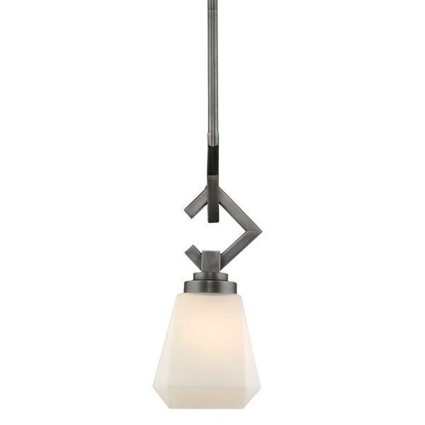 Golden Lighting's Hollis Mini Pendant #2712-M1L AS-OP