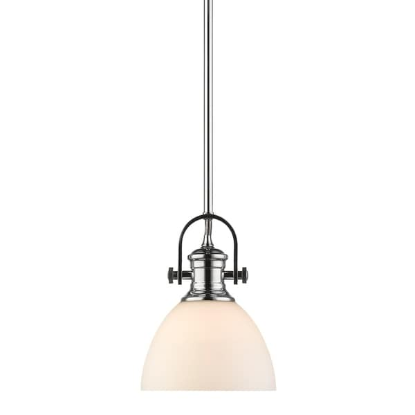 Golden Lighting's Hines Mini Pendant #3118-M1L CH-OP