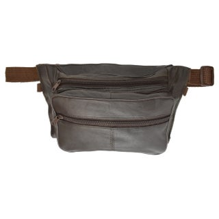 AFONiE Leather Waist Pouch With Space