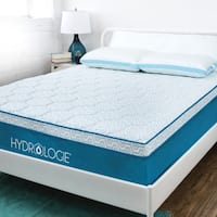 Hydrologie Essential 10 Inch Cooling Gel Memory Foam Mattress Medium Soft & Firm - Advanced cooling & plush pillow top