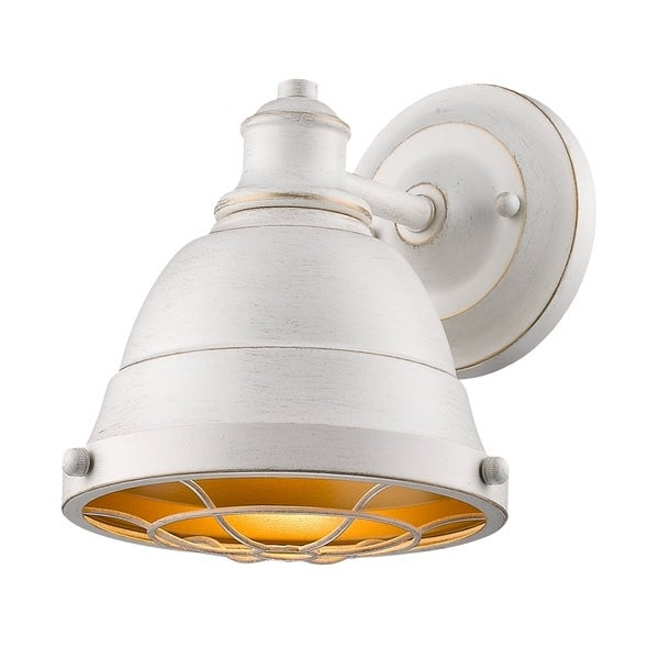 Golden Lighting X27 S Bartlett Fw 1 Light Bath Vanity 7312 Ba1