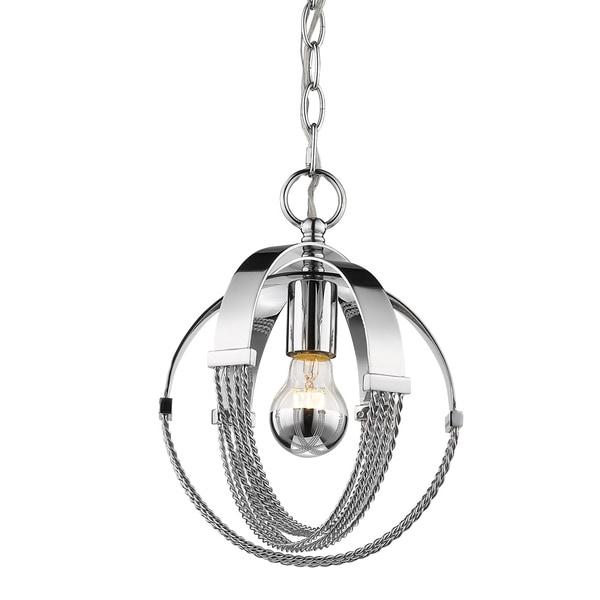 Golden Lighting's Carter Mini Pendant #7001-M1L CH