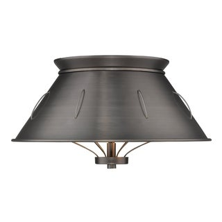 Golden Lighting's Whitaker Flush Mount #7917-FM AS