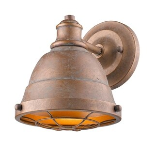 Golden Lighting's Bartlett CP 1 Light Bath Vanity #7312-BA1 CP