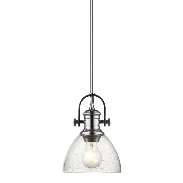 Golden Lighting's Hines Mini Pendant #3118-M1L CH-SD