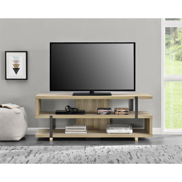 Shop Avenue Greene Ashbridge Brown Oak Tv Stand For Tvs Up To 70