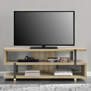 Avenue Greene Ashbridge Brown Oak TV Stand for TVs up to 70-inches