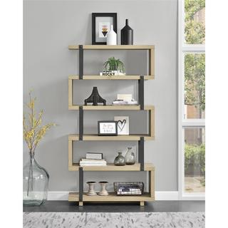 Avenue Greene Ashbridge Brown Oak Bookcase