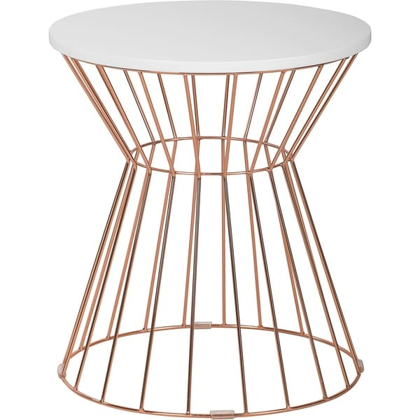 Elle Decor Lulu Bent Metal Side Table