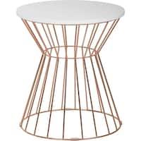 Elle Decor Lulu Bent Metal Side Table
