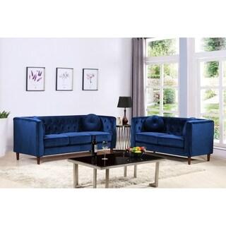 Austin Mid-Century Sofa Set
