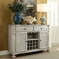 Furniture of America Lelan Transitional Multi-Storage Dining Server